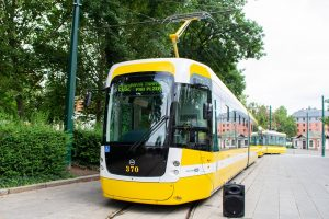 Nová tramvaj EVO2 pro Plzeň. Foto: PMDB
