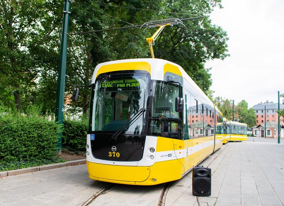 Nová tramvaj EVO2 pro Plzeň. Foto: PMDP