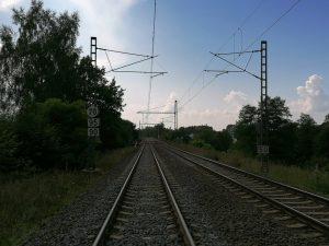 Trať 140 v úseku Dalovice - Hájek. Foto: JP