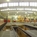Vozovna Hloubětín, hala. Autor: DPP
