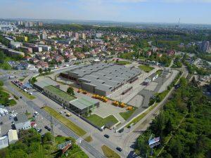 Vozovna Hloubětín, nová hala, vizualizace. Pramen: DPP