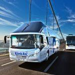 Autobus turecké společnosti Kamil Koç. Pramen: Actera Group