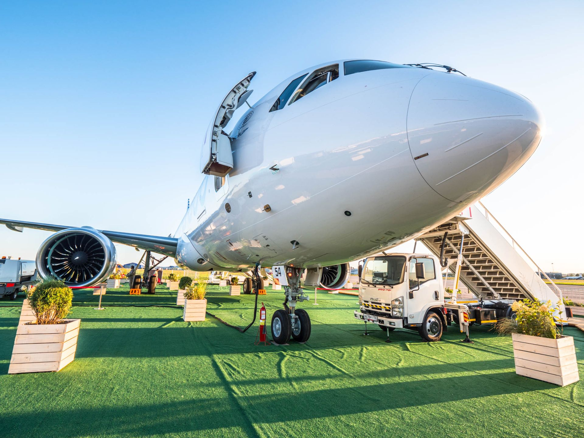 Premiéra letadla MC-21-300 pro veřejnost. Foto: Rosťa Kopecký / Flyrosta.com