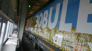 Reklamní polep na lokomotivě Siemens Vectron. Foto: RegioJet