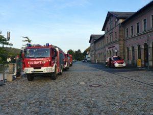 Hasiči v Bad Schandau