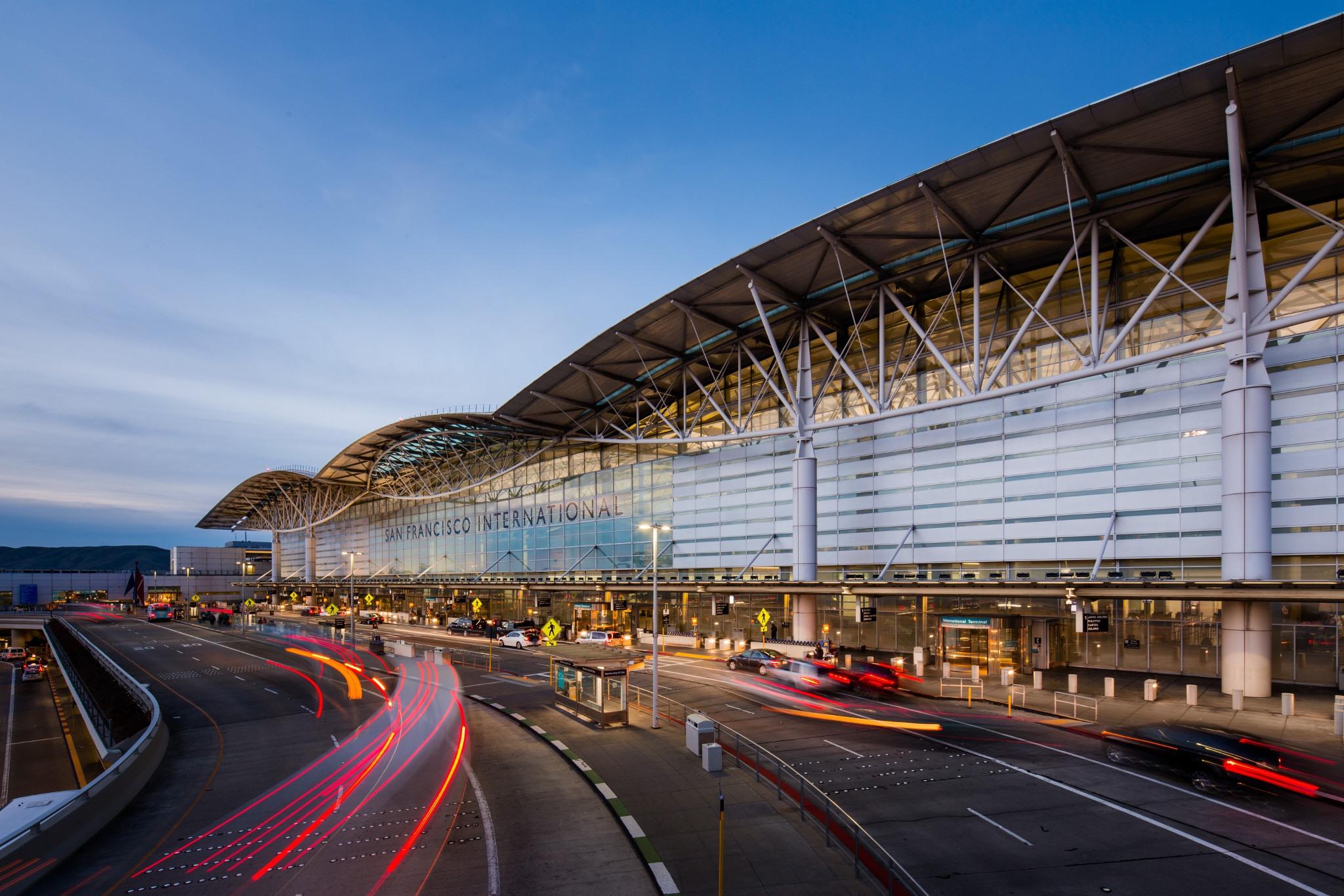 Terminál letiště San Francisco International. Foto: Letiště San Francisco