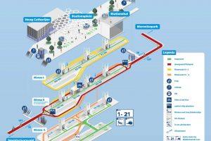 Plán podzemního parkoviště pro kola v Utrechtu. Foto: Utrecht.nl