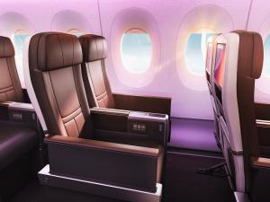 Premium economy v nové A350-1000. Foto: Virgin Atlantic