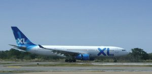 Airbus A330-200 společnosti XL Airways. Foto: Christopher T Cooper [CC BY 3.0 (https://creativecommons.org/licenses/by/3.0)]