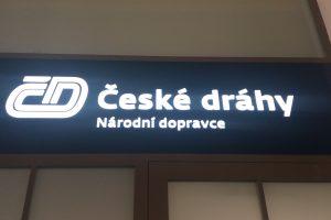 Logo České dráhy, Národní dopravce. Autor: Zdopravy.cz/Jan Šindelář