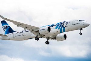 Airbus A220-300 společnosti EgyptAir. Foto: Airbus