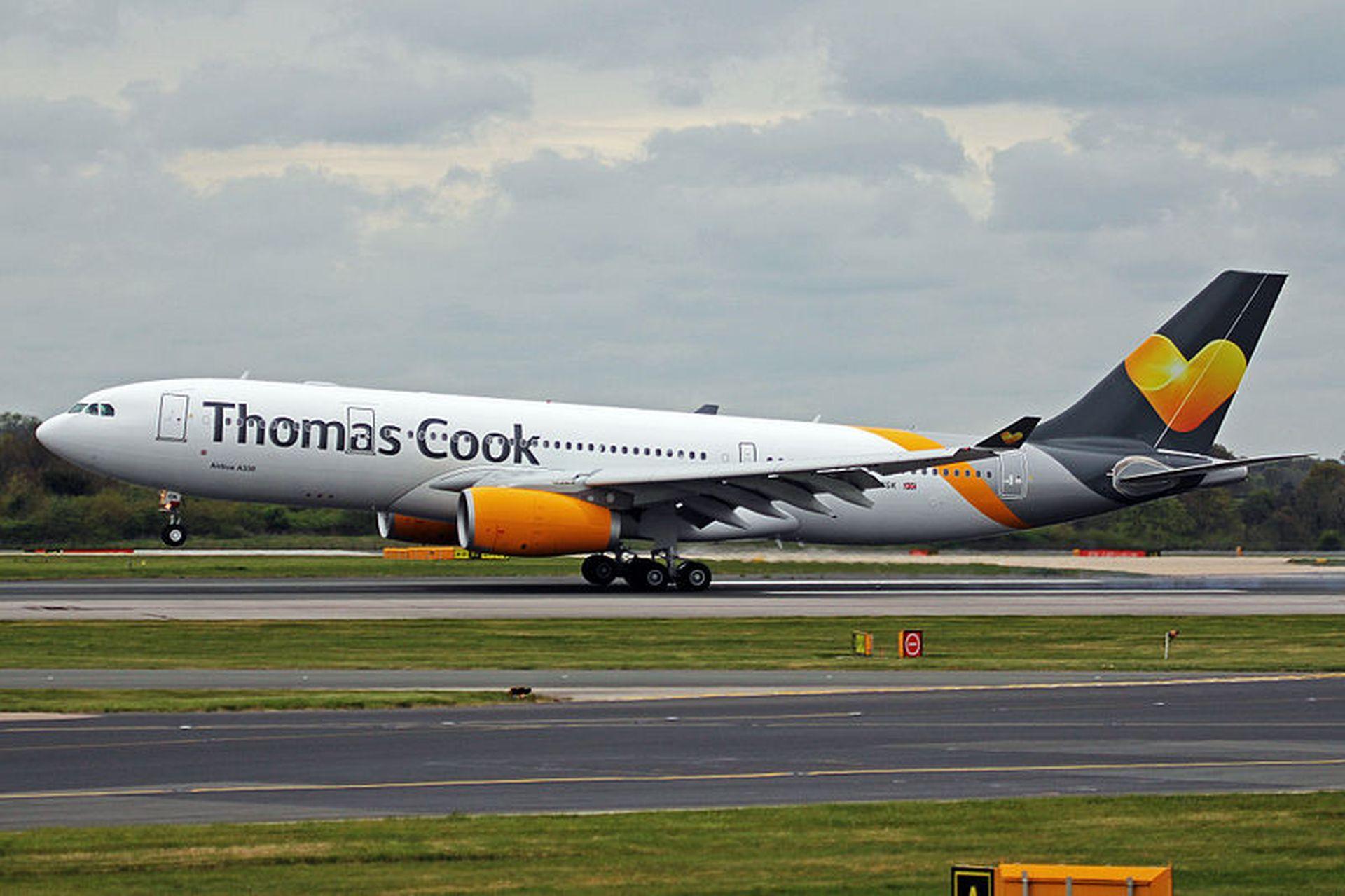 Airbus A330-200 společnosti Thomas Cook. Foto: Ken Fielding/https://www.flickr.com/photos/kenfielding