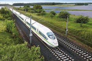 Vysokorychlostní vlak ICE . Foto: Deutsche Bahn