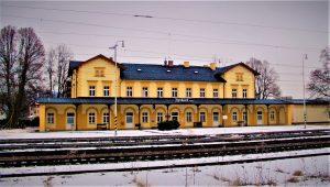 Nádraží Kynšperk nad Ohří. Autor: Petr Müller