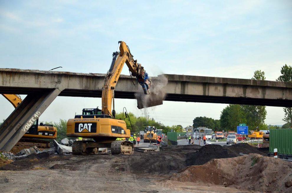 Přestavba křižovatky na D46 u Olšan. Pramen: ŘSD