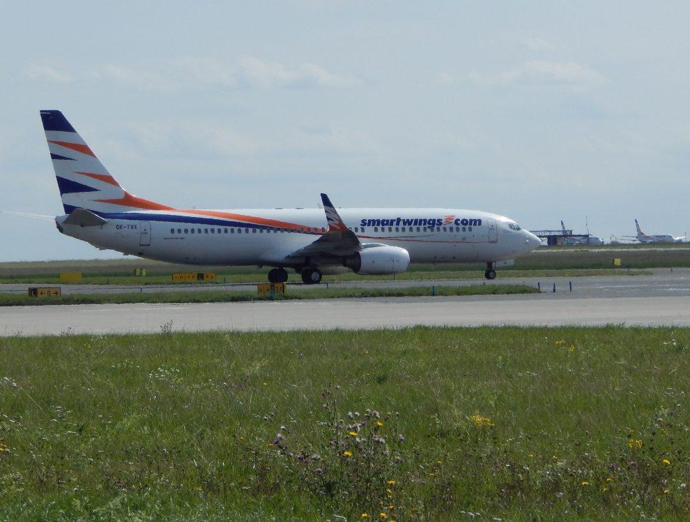 Letadlo Smartwings na pražském letišti. Autor: Zdopravy.cz/Jan Šindelář