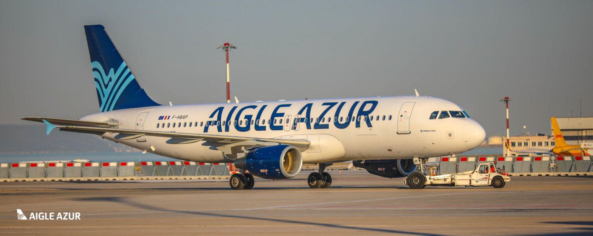 Airbus A320 společnosti Aigle Azur. Foto: Aigle Azur