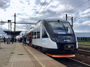 Alstom Coradia Lint 41 v Praze - Holešovicích. Foto: PID