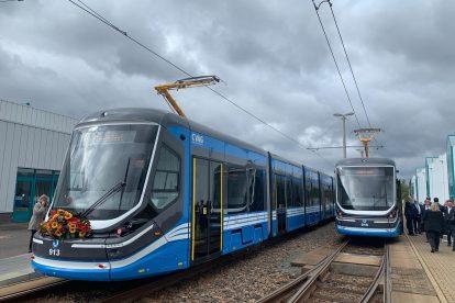 Nové tramvaje Škoda ForCity v Chemnitz. Foto: Škoda Transportation