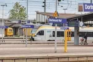 Jednotka Stadler Flirt provozovaná společností Keolis v Dortmundu. Foto: Keolis