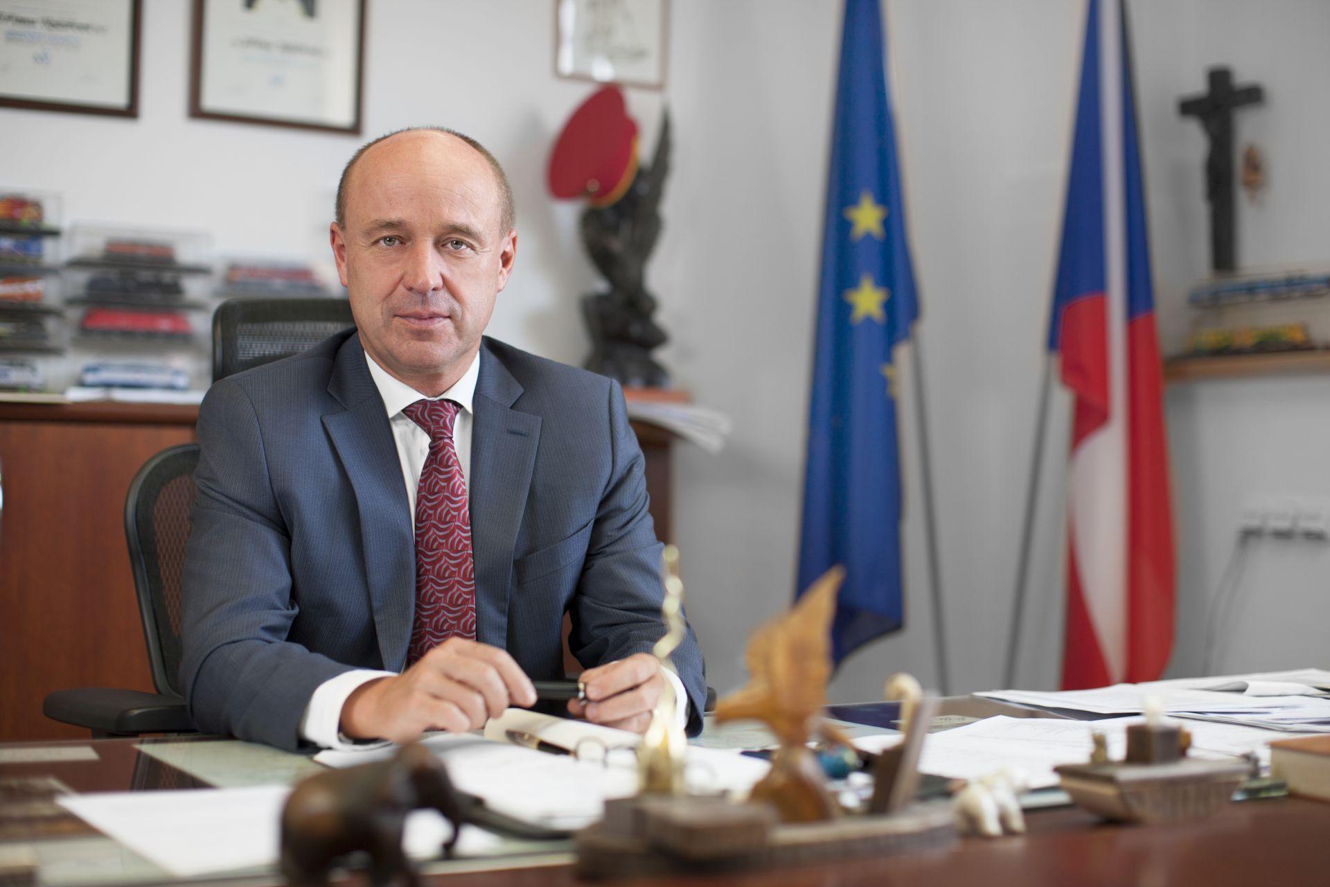 Ředitel Drážního úřadu Jiří Kolář. Foto: DÚČR