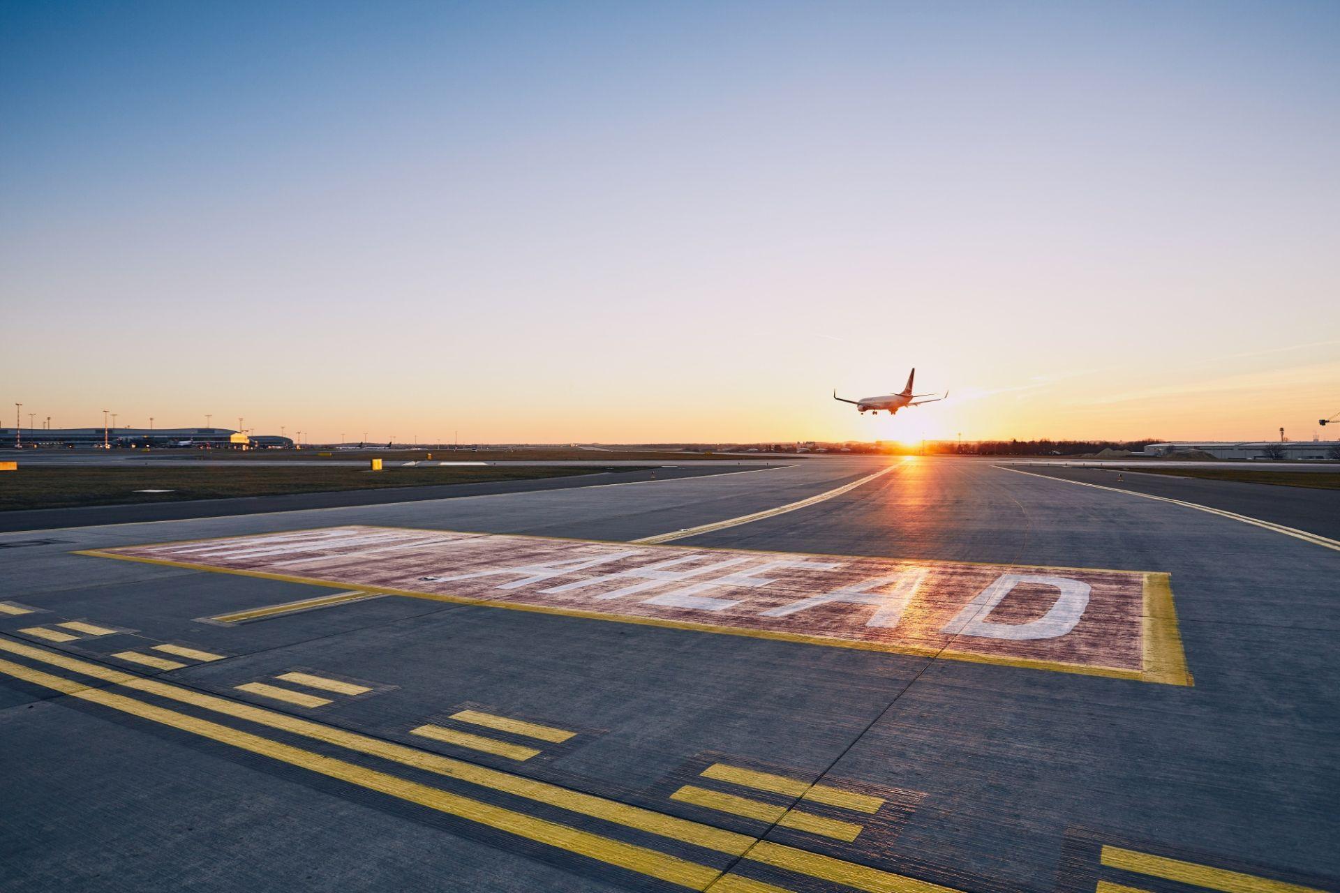 Přistání na dráhu 06/24. Foto: Letiště Praha