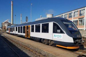 Alstom Lint po úpravách pro provoz v Česku. Foto: Jan Knap - Arriva vlaky