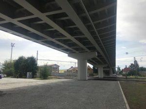 Opravený nadjezd v Lysé nad Labem. Foto: Středočeský kraj