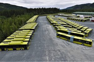 Část dodávky autobusů MAN Lion's City pro provoz v norském Trondheimu. Foto: MAN