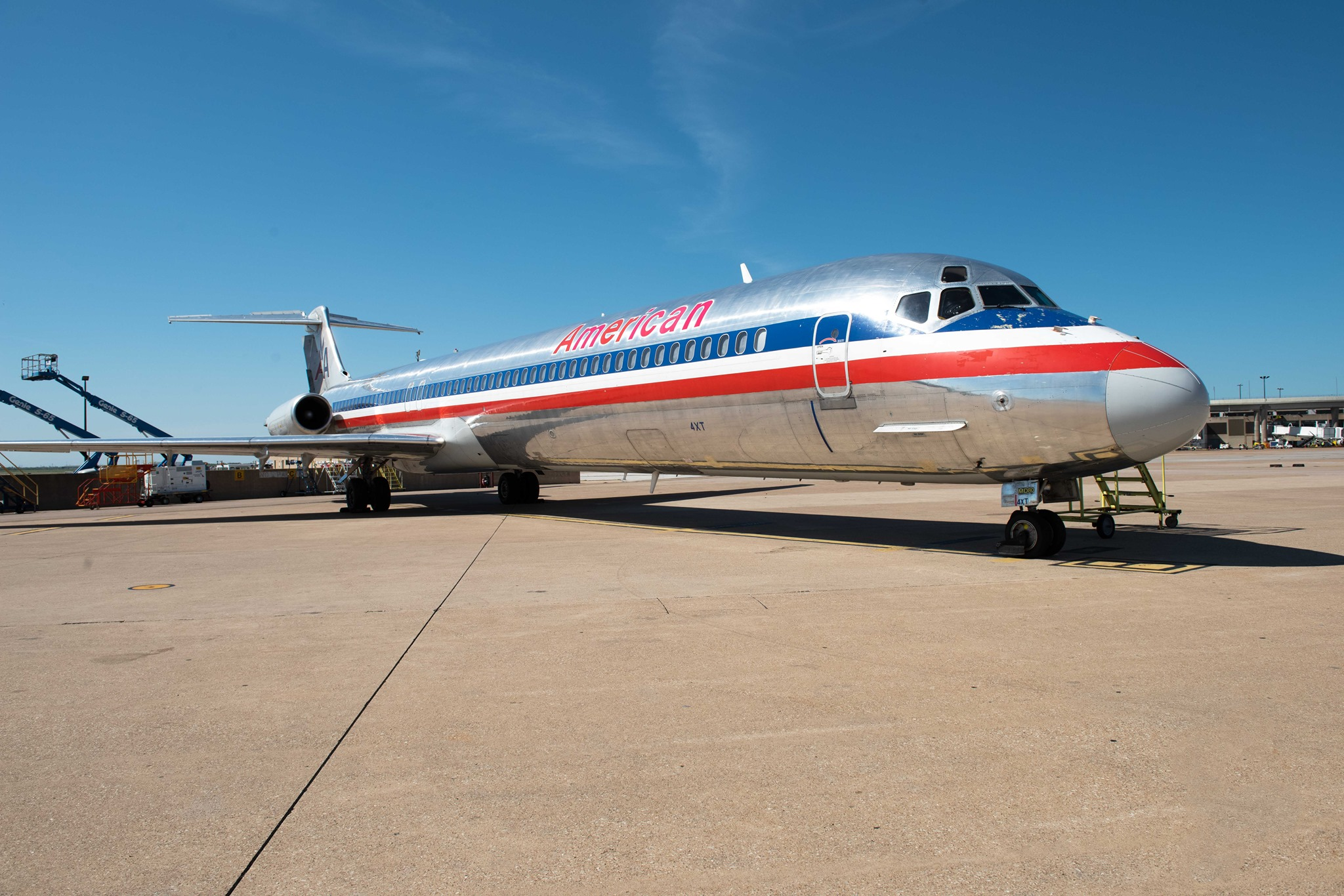 McDonell Douglas MD-80. Foto: American Airlines