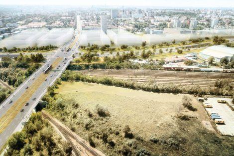 Vyústění tunelu na Černokostelecké. Foto: Satra