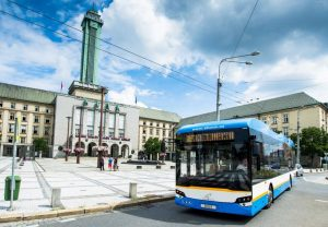 Parciální trolejbus Ekova Electron 12T. Foto: Ekova