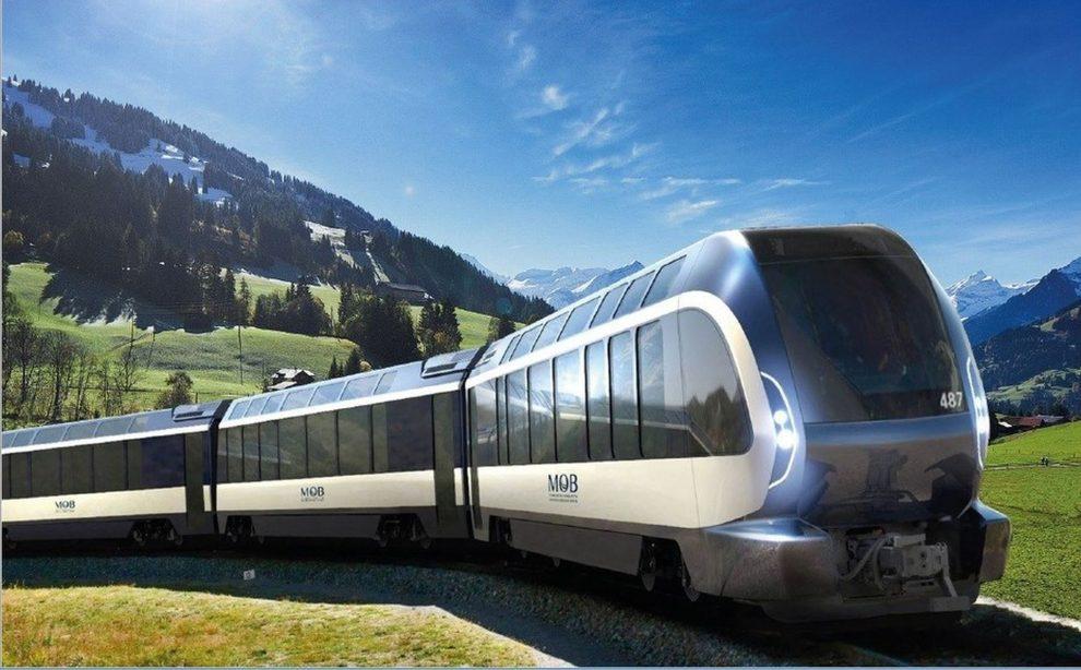 Design vlaku Goldenpass Express. Foto: Pininfarina