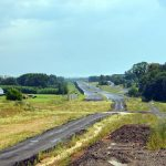 Stavba silnice I/11 prodloužená Rudná. Foto: ŘSD
