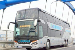 Autobus Setra společnosti Sindbad. Foto: Sindbad