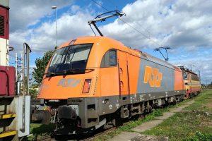 Lokomotiva Siemens ES64U4. České dráhy koupily dva kusy těchto strojů v Rakousku. Foto: České dráhy