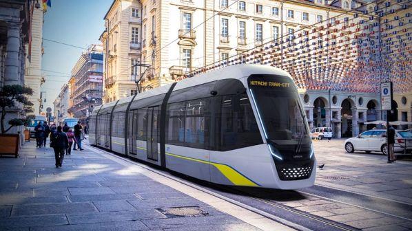 Nová tramvaj pro Turín od společnosti Hitachi Rail. Foto: GTT