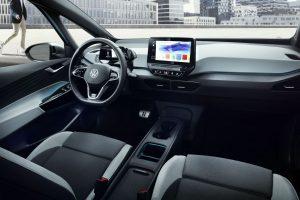 Interiér elektromobilu Volkswagen ID3. Foto: VW