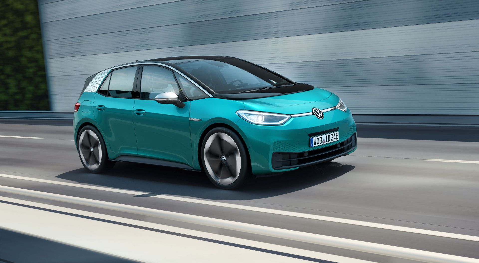 Elektromobil Volkswagen ID3. Foto: VW