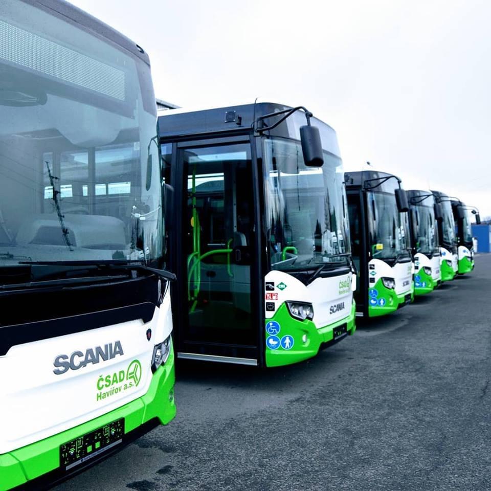 Autobusy ČSAD Havířov. Pramen: FB 3ČSAD