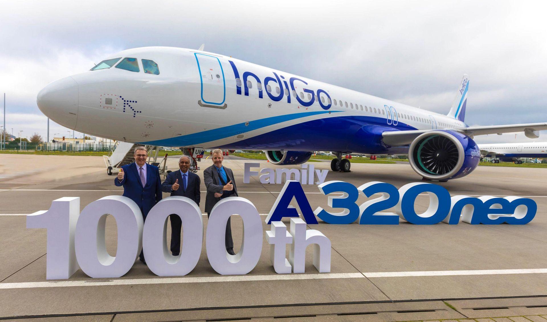 Předání tisícího A320neo. Foto: Airbus