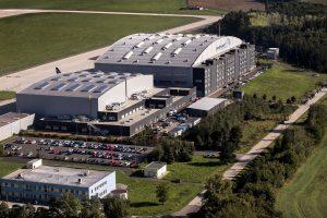 Zázemí Job Air Technic v Ostravě. Foto: JAT