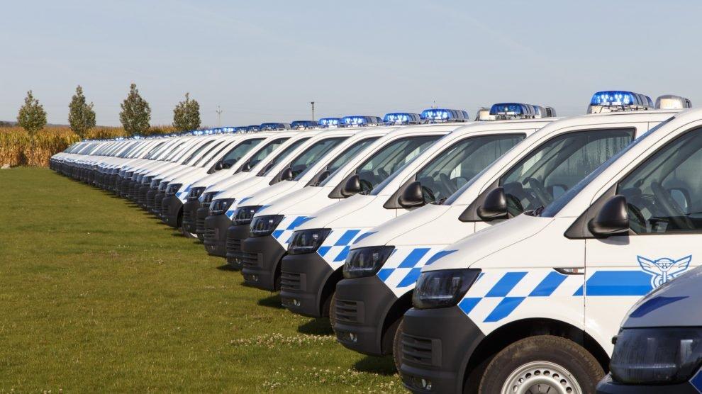 Kontrolní vozidla celní správy k mýtnému systému. Pramen: CzechToll