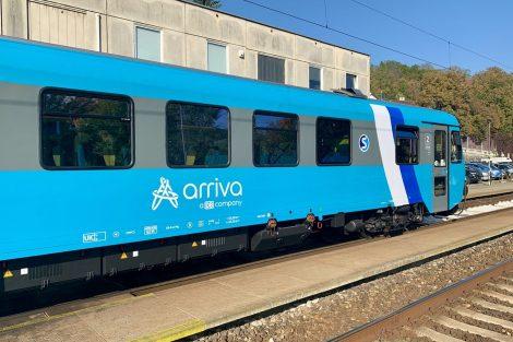 Motorák řady 845 společnosti Arriva. Pramen: Arriva