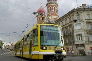 Tramvaj LTM 10.08 Astra. Foto: Plzeňské městské dopravní podniky