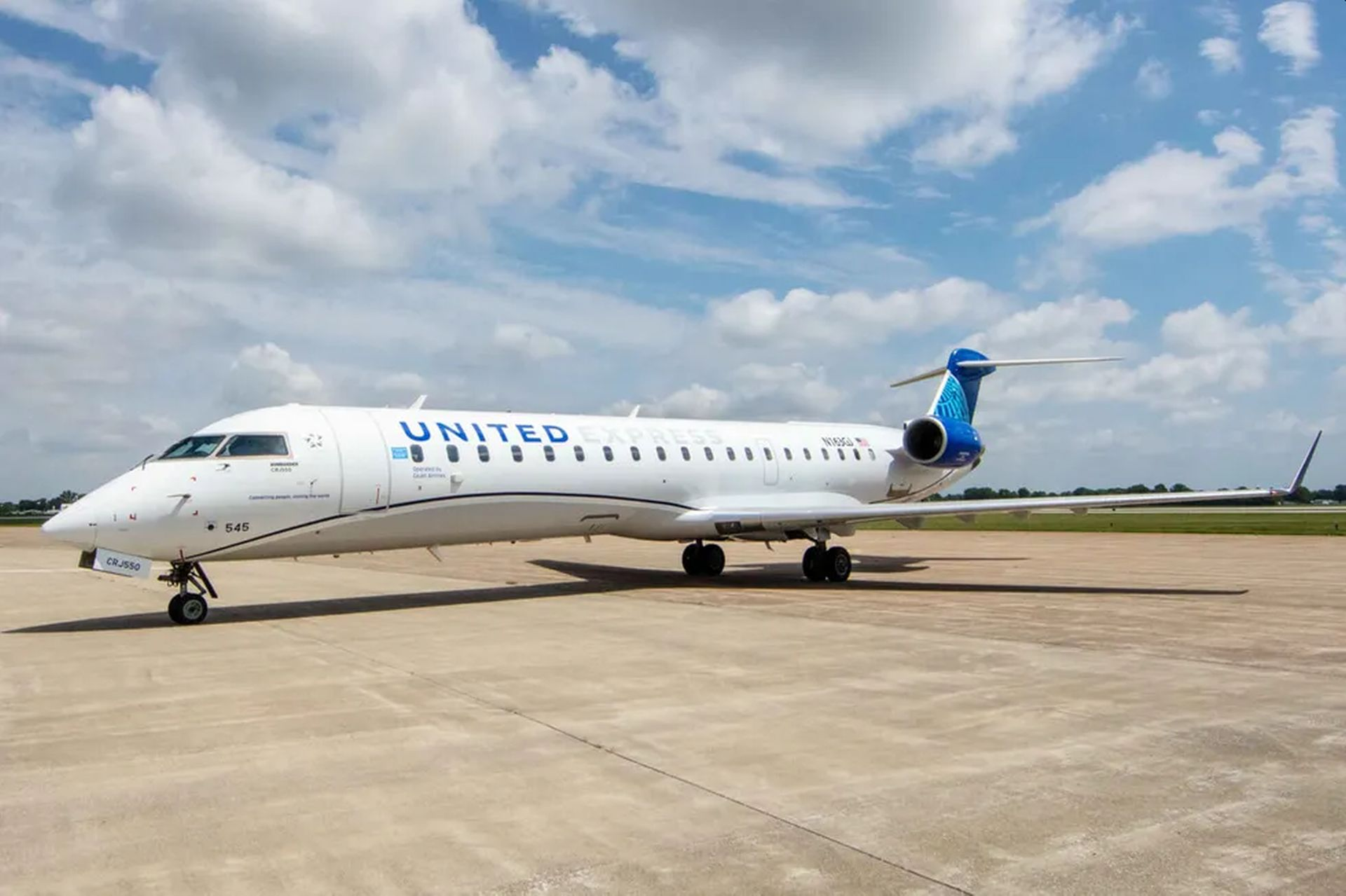 Bombardier CRJ-550. Foto: United Airlines