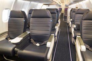První třída v CRJ-550. Foto: United Airlines