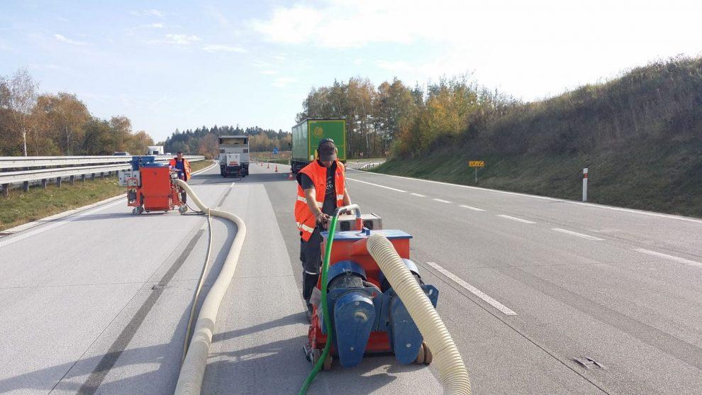 Opravy dálnice D1 na 49. kilometru. Foto: ŘSD