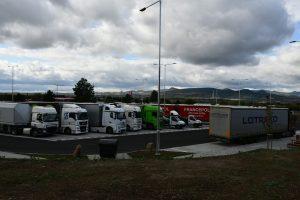 Odpočívka Siřejovice na D8 po rozšíření. Foto: ŘSD