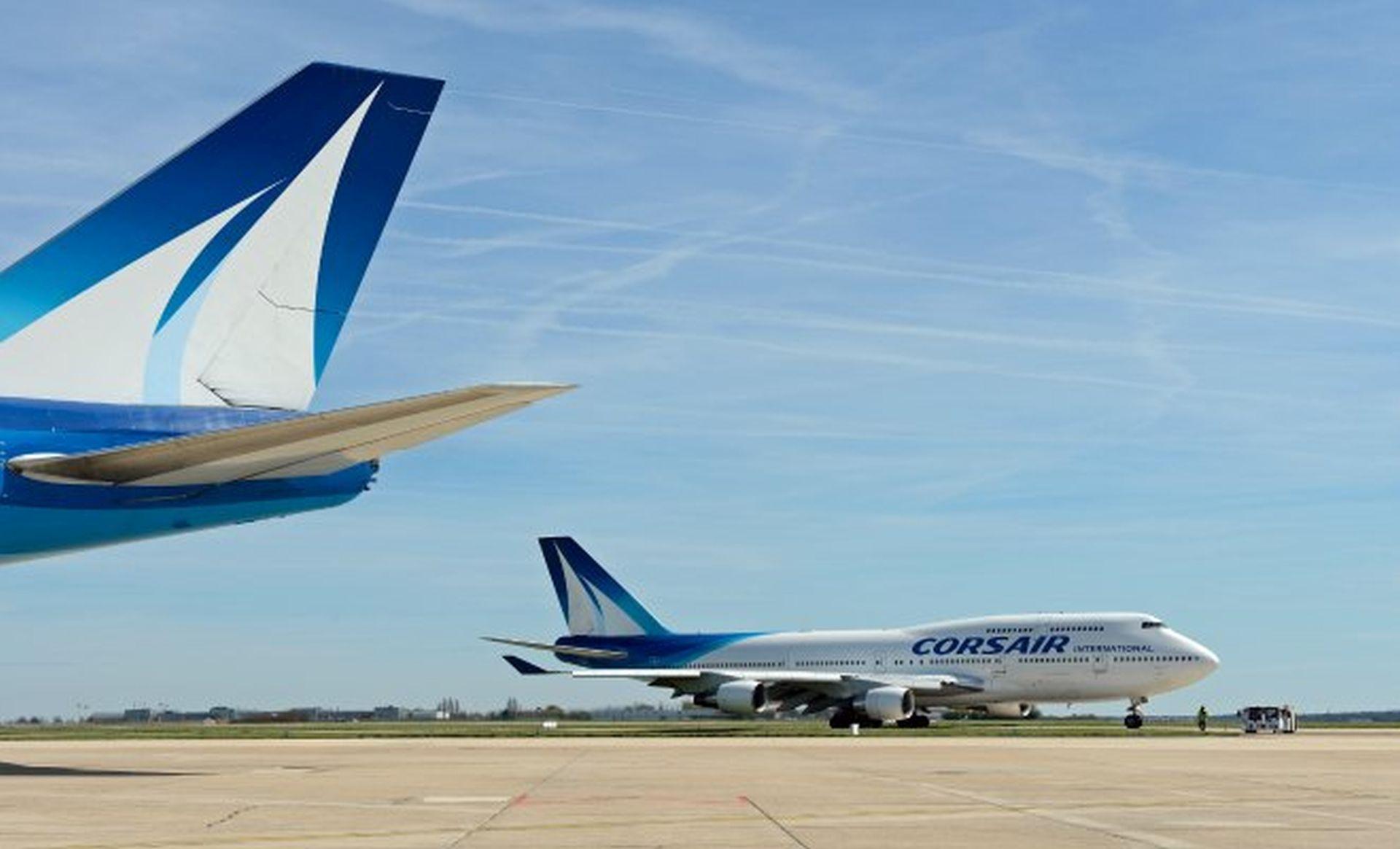 Corsair a jeho Boeing 747-400. Foto: Corsair